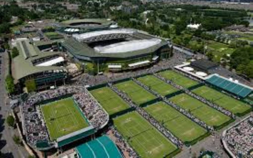 Google celebrates 140 years of Wimbledon with a doodle